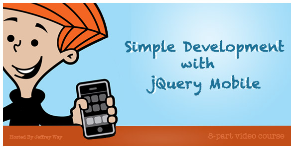 Simple Development with jQuery Mobile